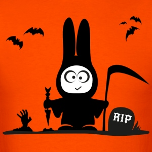 halloween rabbit bat bunny grave horror T-Shirts - Men's T-Shirt