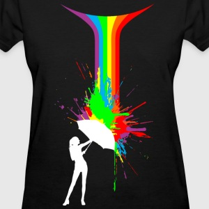 Rainbow Splash - Women's T-Shirt