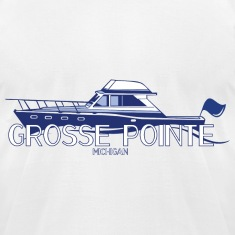 Grosee Pointe Michigan T-Shirts Apparel Clothing  T-Shirts