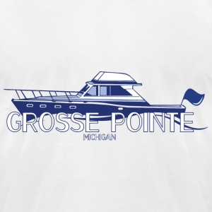 Grosee Pointe Michigan T-Shirts Apparel Clothing  T-Shirts - Men's T-Shirt by American Apparel