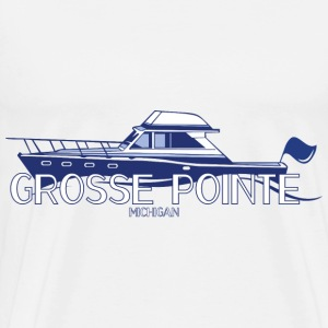 Grosee Pointe Michigan T-Shirts Apparel Clothing  T-Shirts - Men's Premium T-Shirt