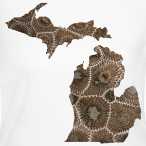 Michigan Petoskey Stone Cute Funny Pure Apparel  Long Sleeve Shirts - Women's Long Sleeve Jersey T-Shirt