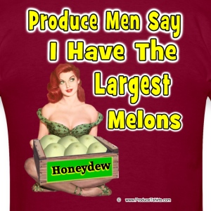 The Largest Melons T-Shirts - Men's T-Shirt