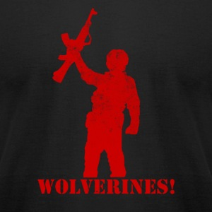 Wolverines - Men's T-Shirt by American Apparel