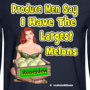 The Largest Melons Long Sleeve Shirts - Men's Long Sleeve T-Shirt