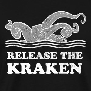 Release The Kraken - Men's Premium T-Shirt