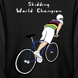 skidding world champion Kids' Shirts - Kids' Long Sleeve T-Shirt