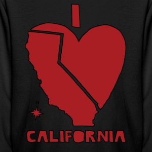 i heart California (red) Kids' Shirts - Kids' Long Sleeve T-Shirt