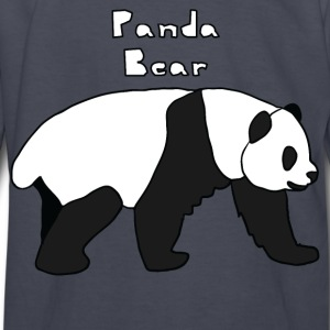 panda bear Kids' Shirts - Kids' Long Sleeve T-Shirt