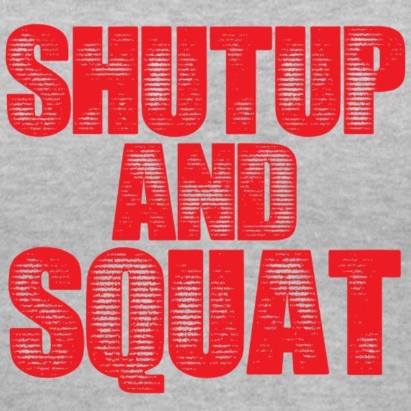 Shut Up Gym Motivation Women's T-Shirts - Women's V-Neck T-Shirt