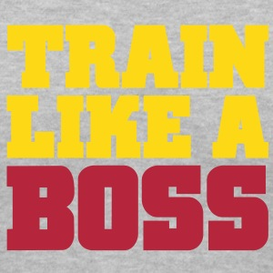 Like A Boss Gym Motivation Women's T-Shirts - Women's V-Neck T-Shirt