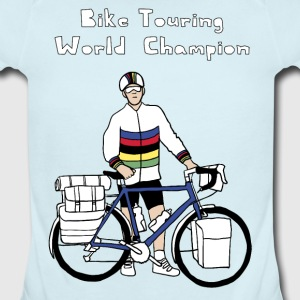 Bike Touring World Champion Baby & Toddler Shirts - Short Sleeve Baby Bodysuit