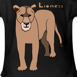 lioness Baby & Toddler Shirts - Short Sleeve Baby Bodysuit