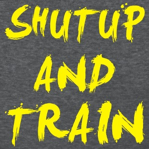 Shut Up Gym Motivation Women's T-Shirts - Women's T-Shirt