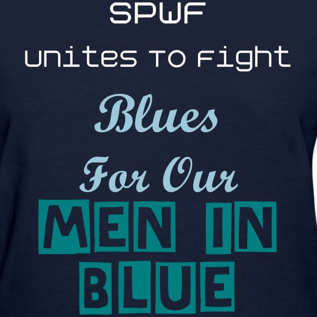 Blues For Our Men In Blue Campaign - Official Tee