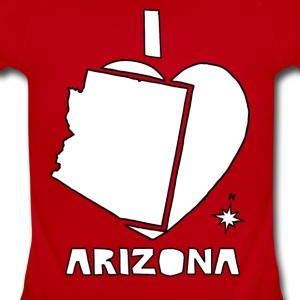 i heart Arizona (white) Baby & Toddler Shirts - Short Sleeve Baby Bodysuit