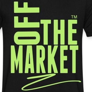 OFF THE MARKET T-Shirts - Men's V-Neck T-Shirt by Canvas
