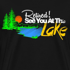 see you at the lake T-Shirts - Men's Premium T-Shirt