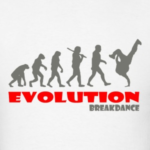 Breakdance ape of Evolution - Men's T-Shirt