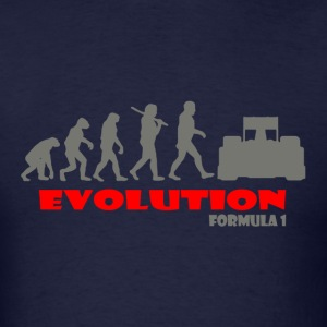 Formula 1 ape of Evolution - Men's T-Shirt
