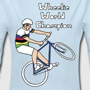 wheelie world champion Baby & Toddler Shirts - Long Sleeve Baby Bodysuit