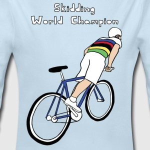 skidding world champion Baby & Toddler Shirts - Long Sleeve Baby Bodysuit