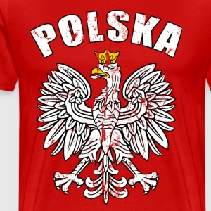 poland eagle T-Shirts - Men's Premium T-Shirt