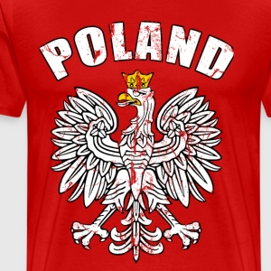 poland coat of arms T-Shirts - Men's Premium T-Shirt