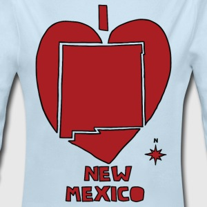 i heart New Mexico (red) Baby & Toddler Shirts - Long Sleeve Baby Bodysuit