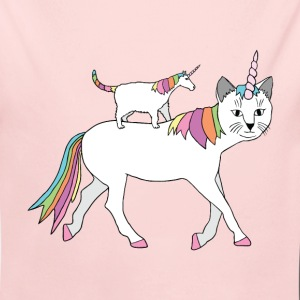 cat-unicorn on unicorn-cat Baby & Toddler Shirts - Long Sleeve Baby Bodysuit