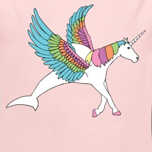 dolphin, pegasus, unicorn hybrid Baby & Toddler Shirts - Long Sleeve Baby Bodysuit