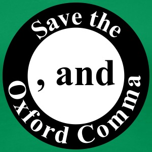 Save the Oxford Comma - Women's Premium T-Shirt