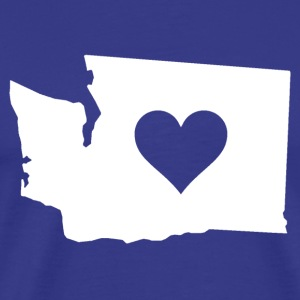 Heart in Washington - Men's Premium T-Shirt