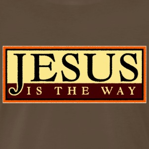 Jesus Christ Son of God Lord - Men's Premium T-Shirt