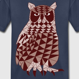 triangle owl (marron) Kids' Shirts - Kids' Premium T-Shirt