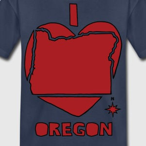 i heart Oregon (red) Kids' Shirts - Kids' Premium T-Shirt
