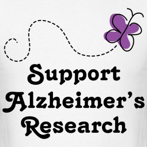 Alzheimers Support Cute T-Shirts - Men's T-Shirt