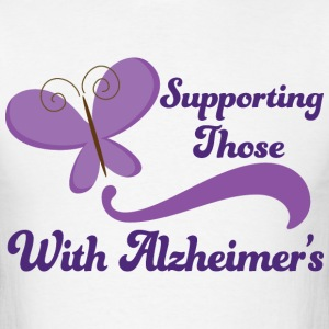 Alzheimers Support Pretty T-Shirts - Men's T-Shirt