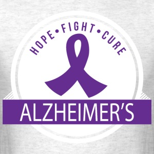 Alzheimers Hope Cure T-Shirts - Men's T-Shirt