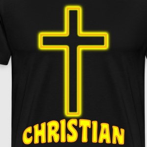 Jesus Christ Son of God Lord Christian - Men's Premium T-Shirt