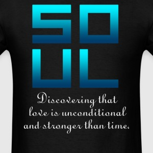 Soul (Soul + Mate Couples Design) T-Shirts - Men's T-Shirt