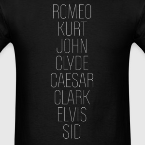 Romeo (Romeo & Juliet Couples Design) T-Shirts - Men's T-Shirt