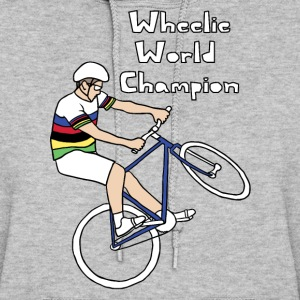 wheelie world champion Hoodies - Women's Hoodie