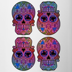 Sugar Skulls Bottles & Mugs - Contrast Coffee Mug