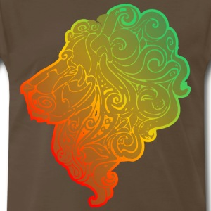 lion_head - Men's Premium T-Shirt