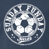 Design ~ sunday funday soccer T-Shirts