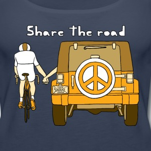 share the road Tanks - Women's Premium Tank Top