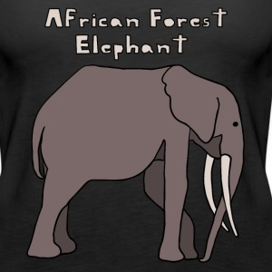 african forest elephant Tanks - Women's Premium Tank Top
