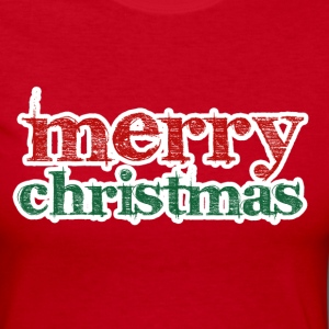 Merry Christmas - Women's Long Sleeve Jersey T-Shirt