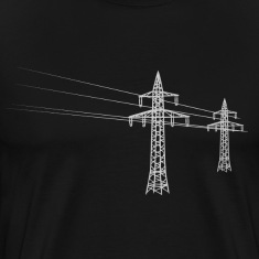 Overland power pole white Shirt
